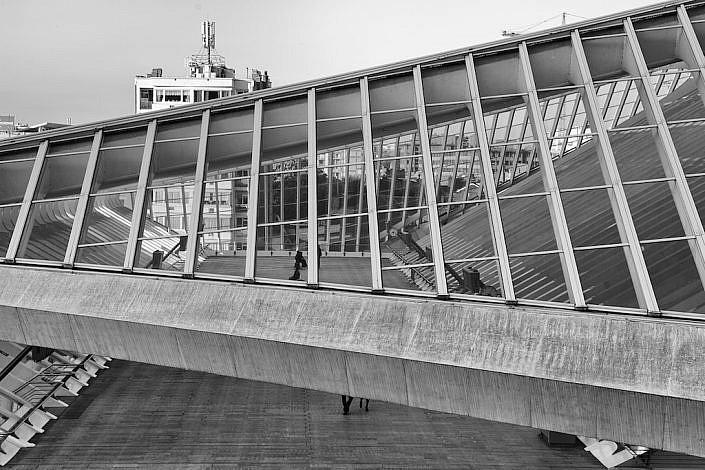 Westlicher Zugang Bahnhof Liege-Guillemins
